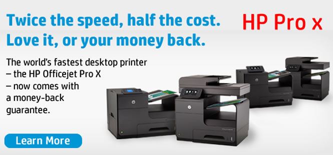 HP Officejet Pro X Series