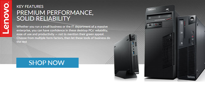 Lenovo ThinkCentre Desktops & All-in-Ones