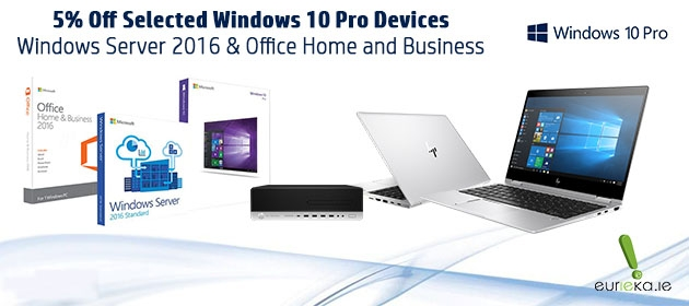 Windows 10 Pro and Server Banner